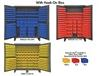 HEAVY DUTY STORAGE CABINETS WITH HOOK-ON BINS